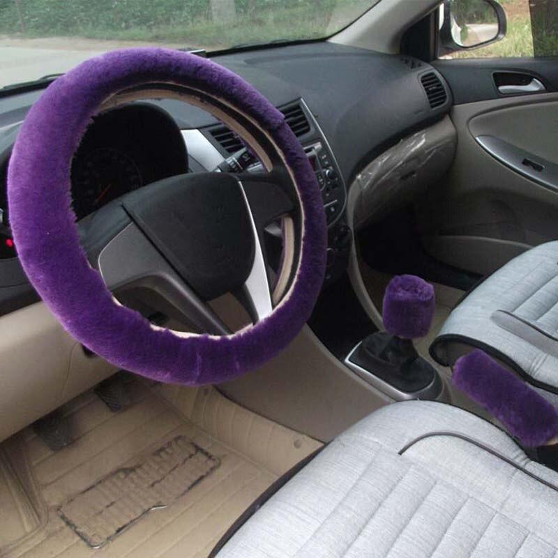 KKYSYELVA Қысқы автомобиль рульдік - Автокөліктің ішкі керек-жарақтары - фото 5