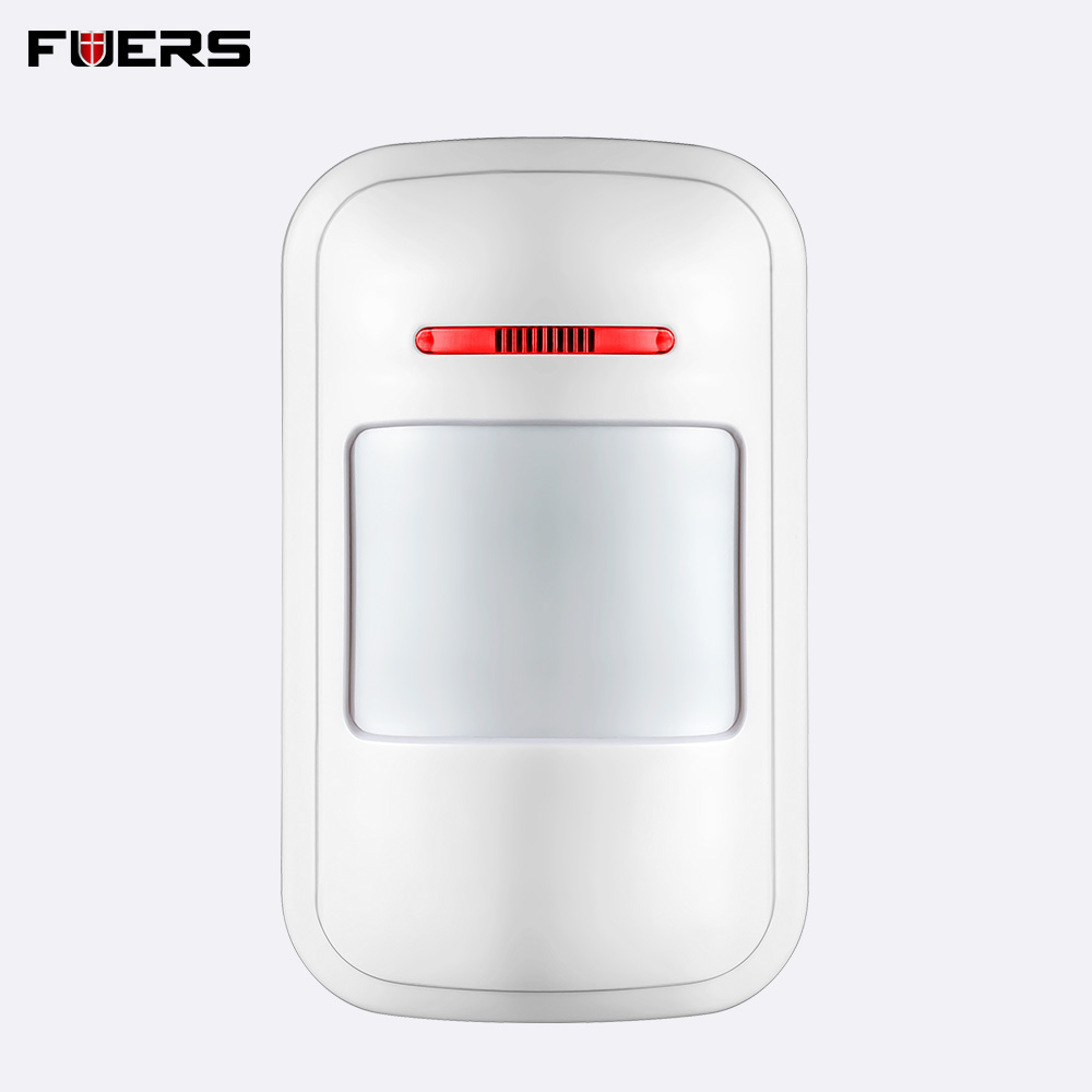 433MHz Wireless PIR Infrared Motion Detector Sensor Burglar Home Alarm System