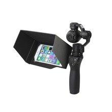 Cellphone Phone Smartphone Sun Hood Sunhood Monitor Shade for DJI OSMO Handheld Gimbal Accessories