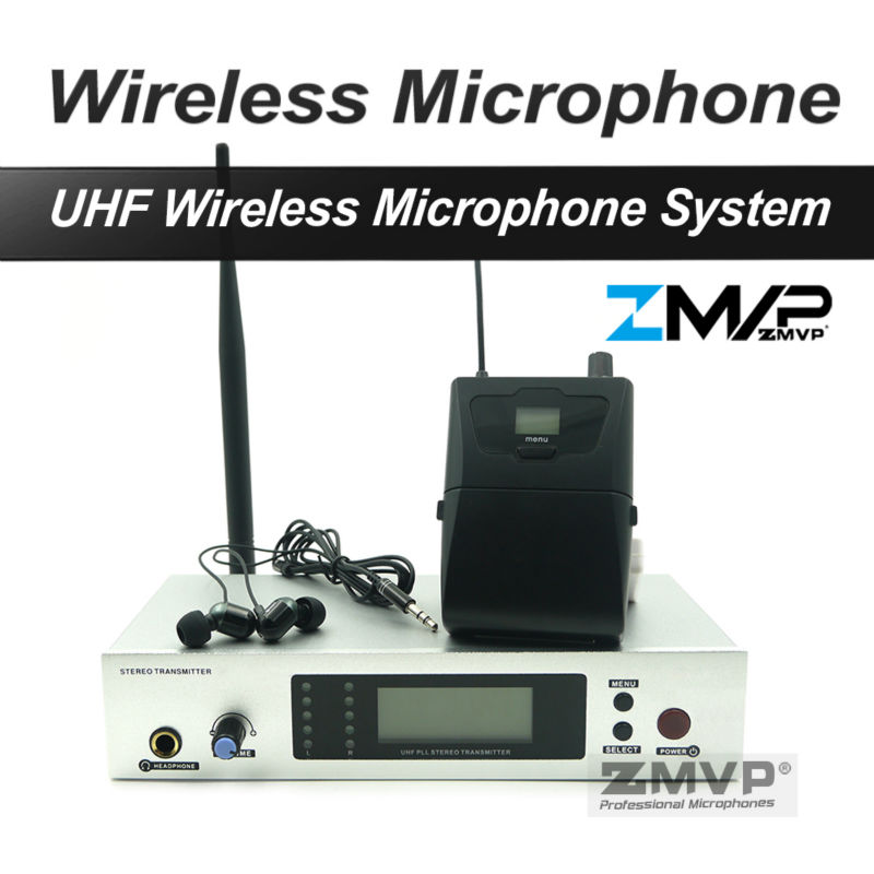 New Product !! Free shipping 300 II IEM G2 Professional Wireless Stereo Monitor System With High Quality In Earphones