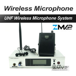 ZMVP 300II IEM G2 Professional In Ear Stereo Monitor Wireless System with Bodypack Transmitter Set for Studio Stage Performance