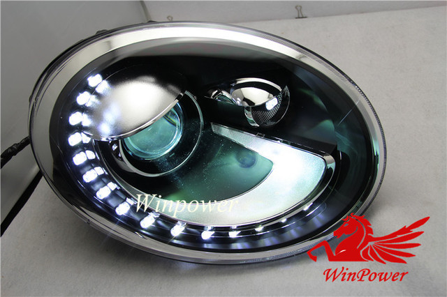 2012 2013 2014  VW Beetle Headlights with LED DRL and Bi-xenon Projector extra bright!! Volkswagen  New Beetle
