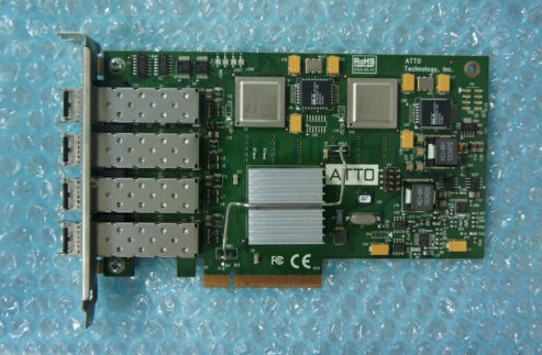 FC-44ES  PCIe 4GB fibre channel card 44ES Original 95%New Well Tested Working One Year Warranty