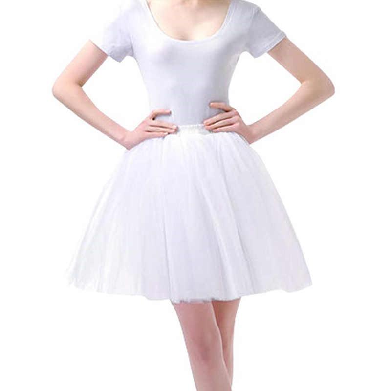 Nowe kobiety Tutu Pettiskirt spódnice w stylu księżniczki Mini taniec letnie krótkie spódniczki cukierkowe plisowane spódniczki Tutu kobiet