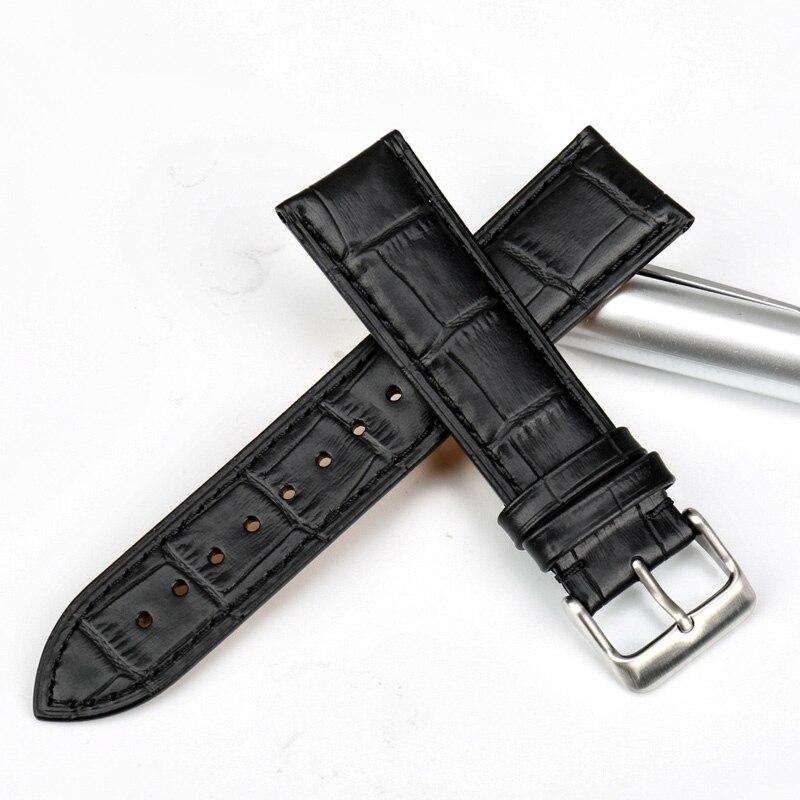 MAIKES Klocka-tillbehör Nyhet Armbandsur av äkta läder 22mm 20mm - Tillbehör klockor - Foto 3