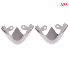 1Pair Metal Fashion Material Shoes Clips for Decorations Shoes Toe Protection High Heels Shoe Broken Reapair Accessories(China)