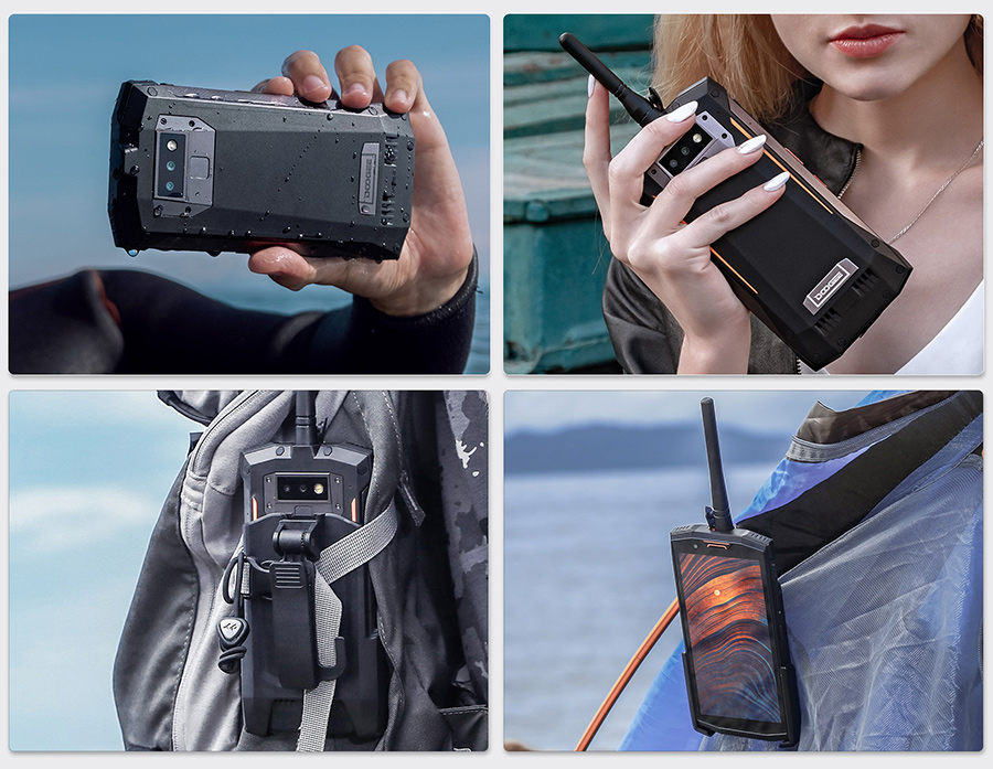 "DOOGEE S80 Lite Walkie talkie smartphone Wireless charge 12V2A 10080mAh Mobile phone 5.99"" FHD+ 4GB+64GB 13MP+8MP NFC cell phone"
