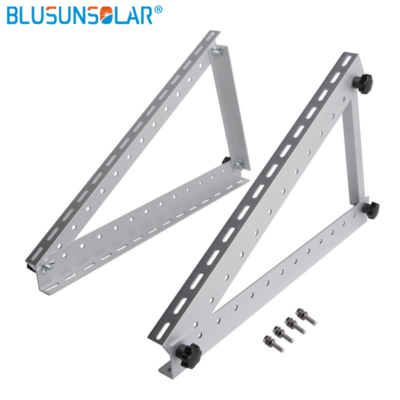 5 Set Lot Adjustable Solar Panel Mount Mounting Brackets