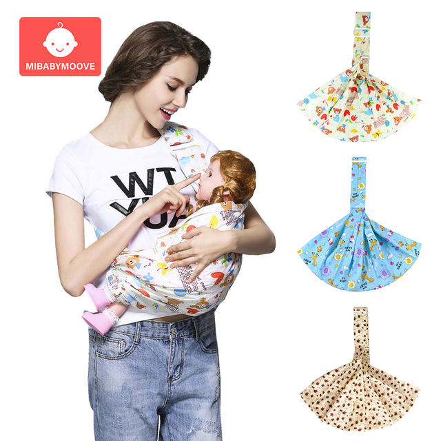 Portable baby wrap carrier Ergonomic Soft Horizontal Newborn Carrier Sling Infant Comfortable Breastfeed Birth Baby Wrap Sling