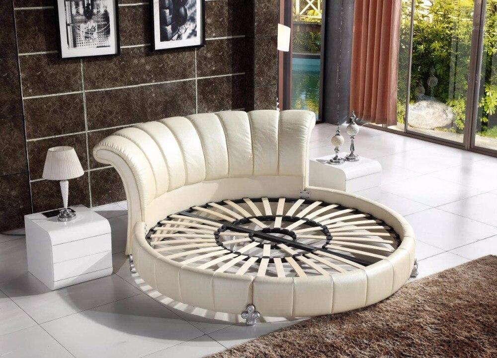 Encantador Muebles De Cuero Con Pelo Insertado Cabeceros Motivo ...