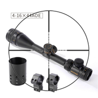 Shooter Tactical ST 4 16X44AOE Rifle Scope With Light For Outdoor Hunting Shooting OS1 0349