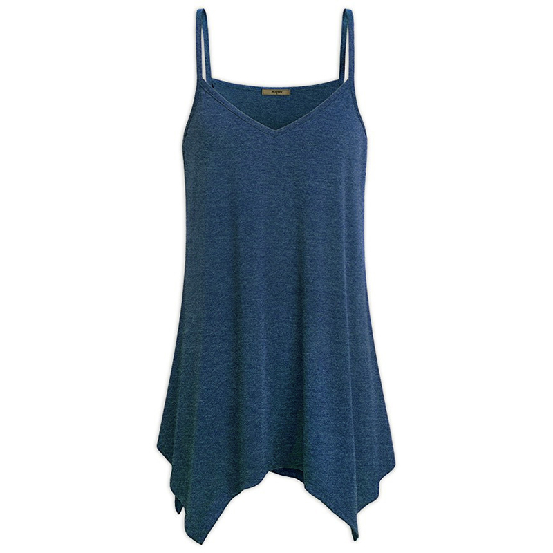 Womens Tunic V Neck Tops Plus Size 5XL Summer Tank Top Sleeveless Loose Casual Camis Ladies Clothes Women 2018 femme