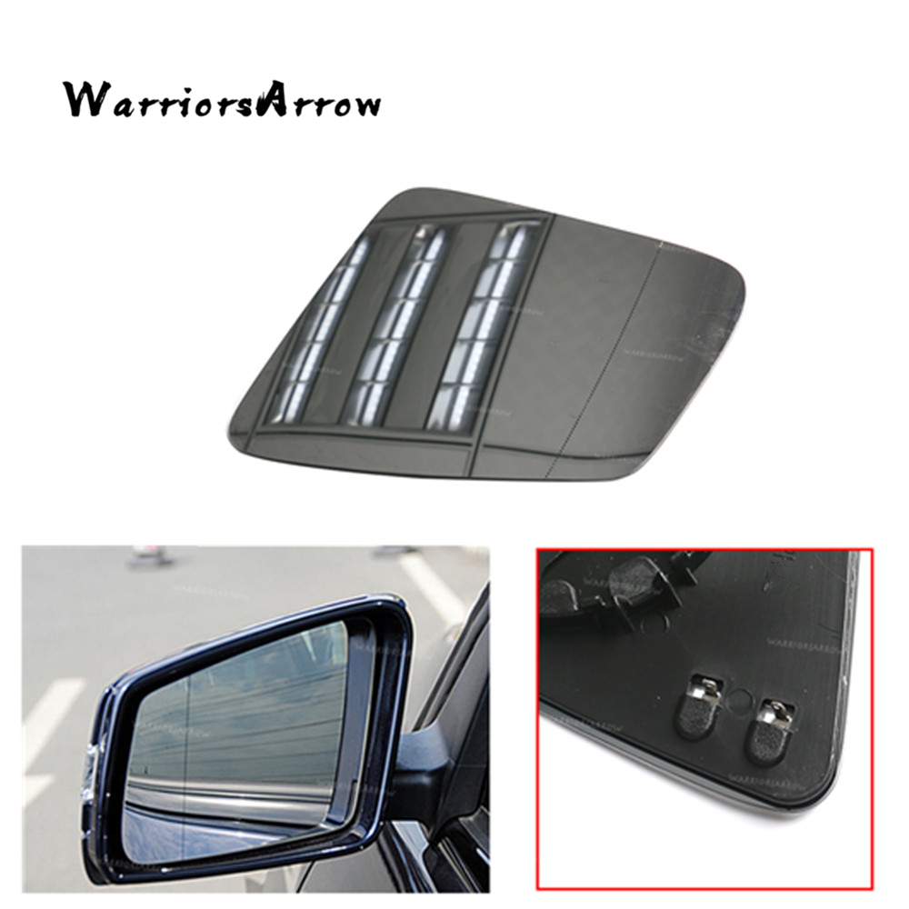 KIA OPTIMA 2011 TO 2017 DRIVER//RIGHT SIDE WING//DOOR MIRROR GLASS SILVER ASPHERIC