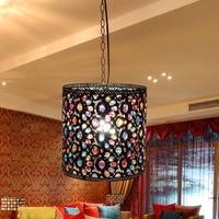 Đông đặc sản sang trọng cao cấp phòng khách đèn chùm phòng ngủ ánh sáng đèn đèn chùm đồ đạc đơn giản mục vụ D-
