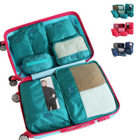7 sets for travel women bag Big letters luggage travel bag ,beach,multi functional reusable bag,Waterproof beaker travel bag