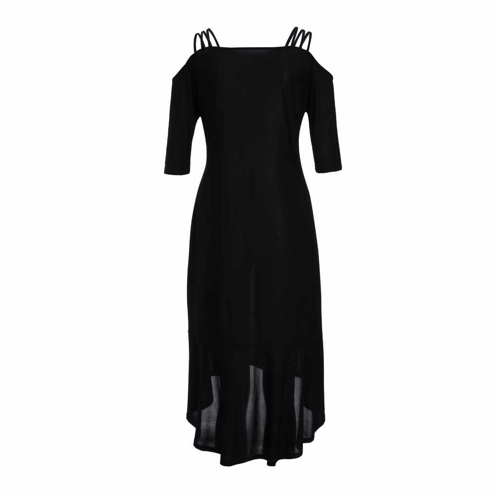 2019 แฟชั่นชุดผู้หญิงขนาดสีทึบไหล่ Camis Appliques Bodycon ชุดพรรค Sundress Vestidos De Fiesta เสื้อผ้า