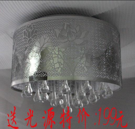 Moderne, minimalistische schlafzimmer lampe kristall lampe decke ...