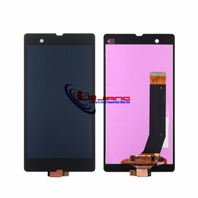 XIANHUAN For Xperia Z L36 LCD Display With Glass Touch Screen Assembly For Sony Z L36h C6603 c6606 Display Touch screen