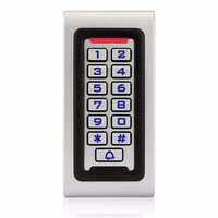 RFID Keypad Access Control Waterproof IP68 Metal Case 125KHZ ID Single Door Standalone Access Control Wiegand 26 bit I/O F1215D