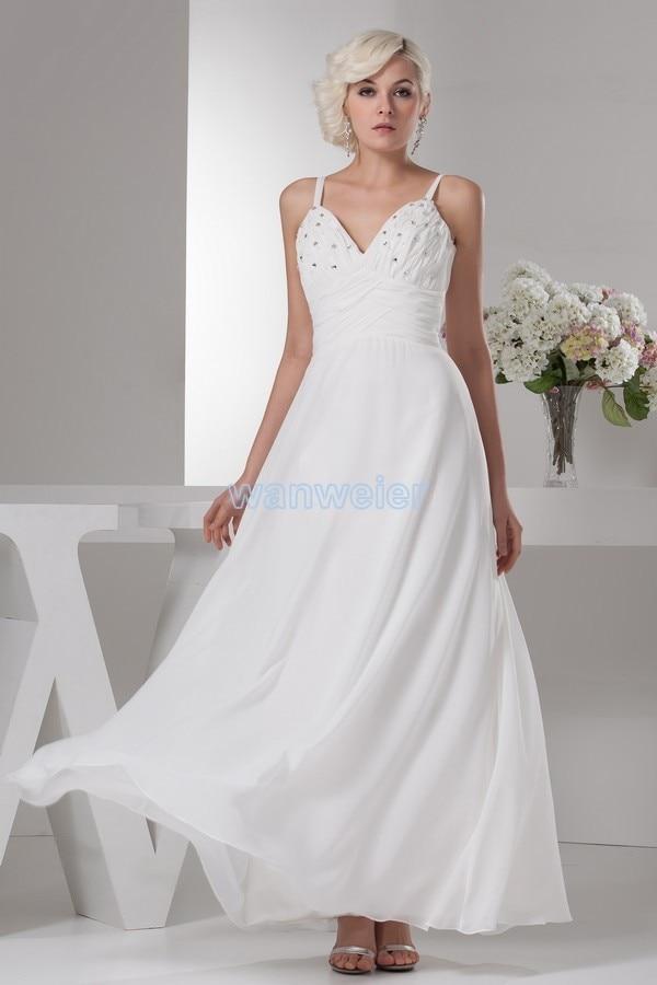 free shipping new fashion 2018 vestidos de novia elegant formal design gown crystal v-neck crystal short white   bridesmaid     dress