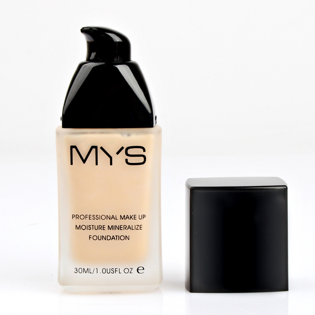 Oil-Control Waterproof Makeup Base Face Liquid Foundation