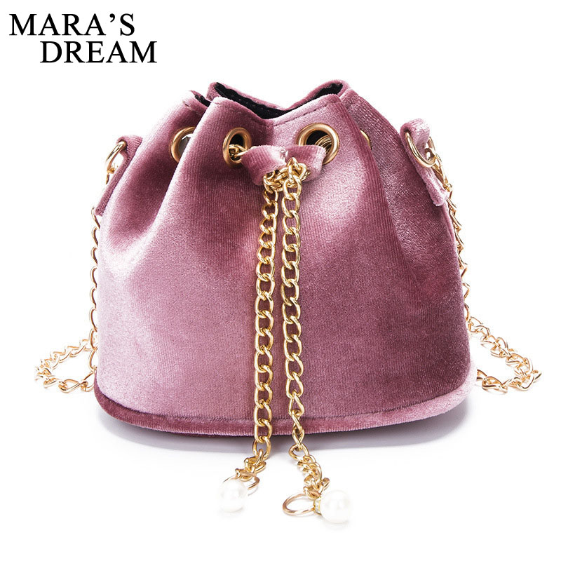 Mara's Dream Winter Velour Messenger Bags Women Solid Color Chain Handbag Ladies Velvet Mini Shoulder Bag Elegant Autumn Bags velour beauty women design handbag chain shoulder bag mini small velvet crossbody satchel female messenger bags gift for girls