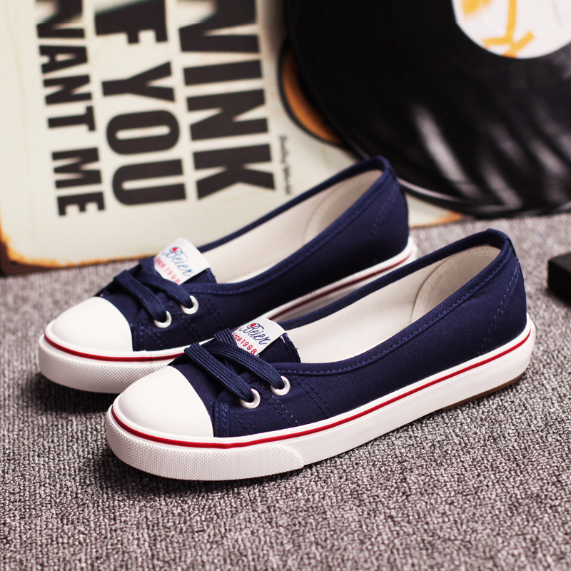 Women Flats Shoes Casual Breathable Summer Women Flats Slip On Fashion Canvas Shoes Women Low Shallow Mouth 1h22 whitesun flock snake leather women shoes slip on soft sole shallow mouth single shoes summer woman casual flats large size shoes