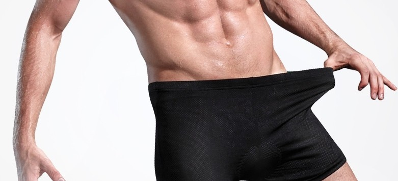high quality Thick silicone pad riding underwear for men and women Cycling Shorts
