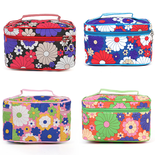 Women Sunflower Travel Zipper Cosmetic Bag Makeup Case Pouch Toiletry Organizer sunflower sf20110907z