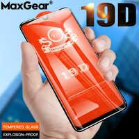 19D curva completa pegamento de vidrio templado para Xiaomi mi 9 SE 8 Pro UD Lite 6X 5X A1 A2 jugar max 3 9SE mi 8 Protector de pantalla película de vidrio