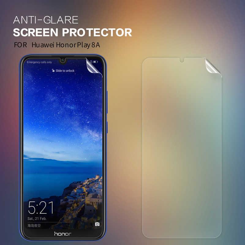 2 ชิ้น/ล็อต Huawei Honor Play 8A ป้องกันหน้าจอ NILLKIN Crystal SUPER CLEAR หรือ Matte Anti-Glare ป้องกันฟิล์ม Honor Play 8A