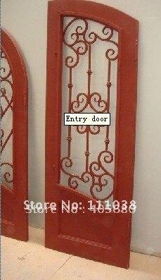 Iron Artistic Doors Chinese Characteristics Door Ancient Wrought Railings Production Facilities Export Companies