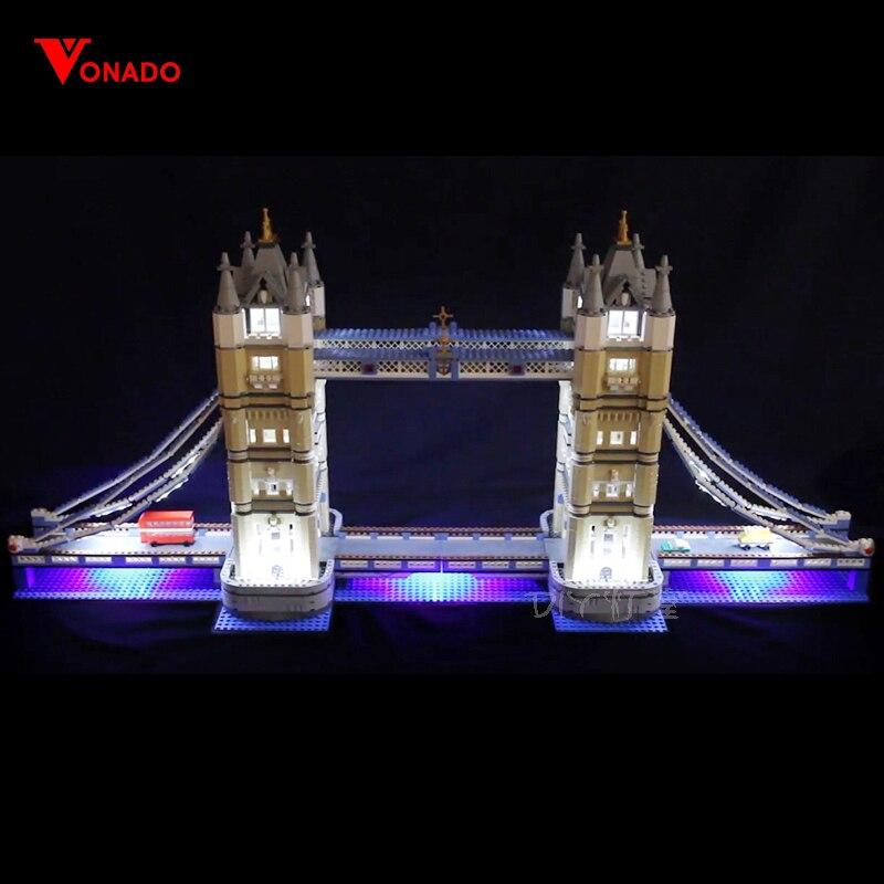 LED Light Kit for lego 10214 Compatible 17004 Creator Expert London bridge Building Blocks Bricks only