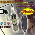 Профессиональный Конденсаторный Микрофон BM800 Микрофон Майк Микрофон ПК Студийный Микрофон Записи Микрофон Ударная Горе Стенд Microfono