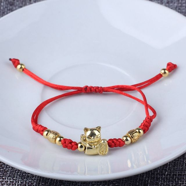 Bracelet Chat Porte Bonheur