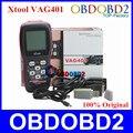 100% Первоначально XTOOL VAG401 OBD2 Диагностический Сканер Для VW/Audi/Skoda/Seat VAG 401 OBDII Code Reader ABS SRS Двигателя Обновление онлайн