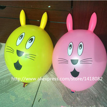 Rabbit balloon  25 pcs/lot mixed color Baby favorite wedding arrangement birthday party Birthday toy balloons
