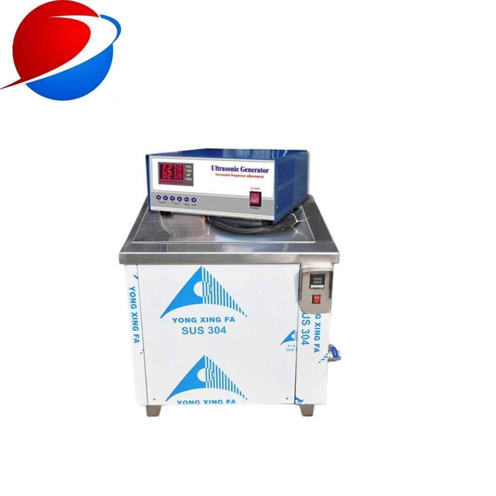 Machine de nettoyage ultrasonique variable de carburateur de voiture du bain 20 khz 25 khz de fréquence, avec le système de filtre à huile pour sauver le recyclage de solvant