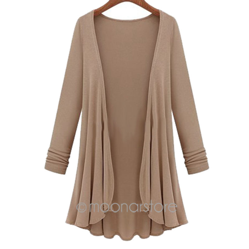 Favolook Knit Long Sleeve Sweater Women Cardigans Jacket