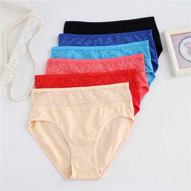 25ae716bd Ixuejie Cotton Fashion Women Underwear Plus Size 4XL Panties Women Big Size  Ladies Briefs Underwear Everyday Panties-in women s panties from Underwear  ...
