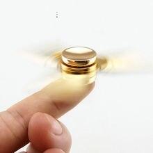 ขายร้อนTriอยู่ไม่สุขมือปั่นTorqbarทองเหลืองของเล่นนิ้วEDCโฟกัสสำหรับผู้ใหญ่เด็กมือSpinnerToys