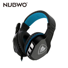 NUBWO Wired Gaming Headset Game Xbox One Earphone Computer font b headphones b font with microphone