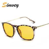 Simvey Fashion Classic Anti Blue Ray Glasses Retro Brand Designer Mens Computer Gaming Reading Fatigue Glasses