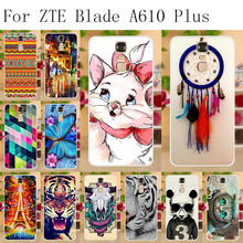 Anunob For ZTE Blade A610 Plus Case Silicone Soft TPU Cover Cases Fundas BV0730 A610+ A2