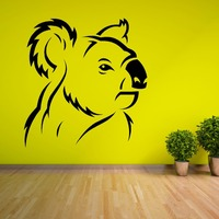 KOALA BEAR AUSTRALIA vinyl wall art sticker roo decal animal