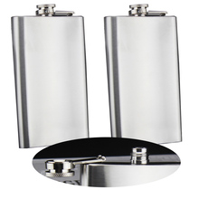New Arrival High Quality 6 oz Liquor Stainless Steel Pocket Hip Flask Screw Cap  460262