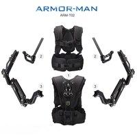TiLTAMAX ARMOR-MAN ARM-T02 Wsparcie Góra Gimbal Stabilizator Steadycam Steadicamu 3 Axis Gimbal Trzymać obciążenia 11 KG Kamizelka + Arm + przypadku