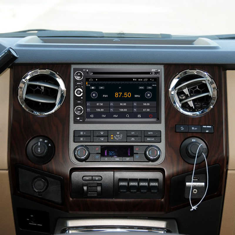 Android 8,1 4 ядра Автомобильный DVD плеер для Ford F150 F350 F450 F550 F250 Mustang/Explorer/Kuga/Edge gps 2 din радиостанция DAB, Wi-Fi, FM,