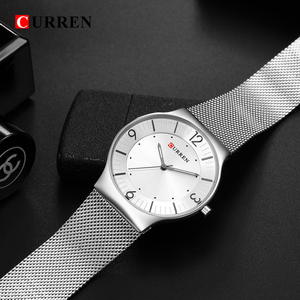 Image 4 - CURREN New Arrival Simple Style Fashion&Casual Business Men Watches Full Steel Quartz Mens Wristwatch Relogio Masculino Relojes