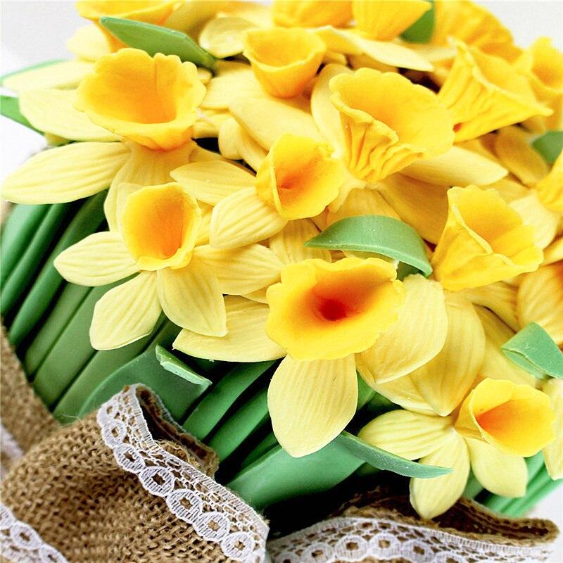Narcissus Petal Silikon kalıp, Silikon Qoşulmuş Kalıp, - Mətbəx, yemək otağı və barı - Fotoqrafiya 6